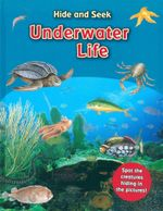 Underwater Life : Hide and Seek - Spot the creatures hiding in the pictures