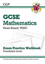 GCSE Maths WJEC Exam Practice Workbook with Answers & Online Edn : Foundation