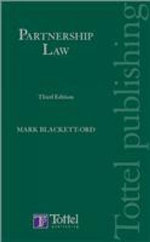 Partnership Law :  Third Edition - Mark Blackett-Ord