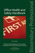 Office Health and Safety Handbook : Fourth Edition - Mike Appleby