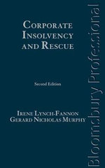 Corporate Insolvency and Rescue : A Guide to Irish Law (Second Edition) - Irene Lynch-Fannon