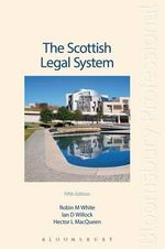 The Scottish Legal System - Hector MacQueen