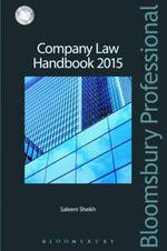 Company Law Handbook 2015 - Saleem Sheikh