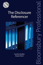 The Disclosure Referencer : The Disclosure Referencer - William Coker