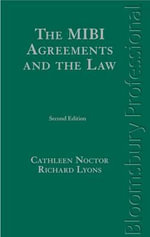 The MIBI Agreements and the Law : A Guide to Irish Law - Cathleen Noctor