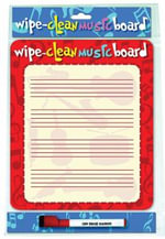 Wipe Clean Music Board : Portrait Edition - Music Sales Corporation