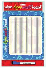Wipe Clean Music Board : Landscape Edition - Music Sales Corporation