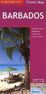Barbados : Globetrotter Travel Maps - Globetrotter