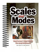 Scales and Modes : Easy to Read - Easy to Play - for Every Instrument - Jake Jackson