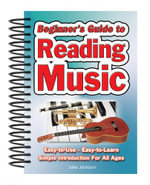 Beginner's Guide to Reading Music : Easy to Use, Easy to Learn; A Simple Introduction for All Ages - Jake Jackson