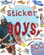 My Giant Sticker Activity Book Boys