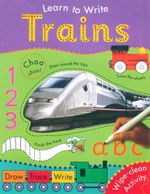 Trains : Learn to Write - GALLAGHER BELINDA