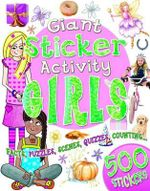 Giant Sticker Activity Book for Girls