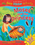 Moses and the Princess : My Bible Sticker Activity