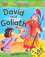 David and Goliath : My Bible Sticker Activity