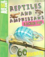 Reptiles and Amphibians : Animal Planet : Sticker Fun - with over 60 stickers