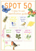 Spot 50 Nature - 5 Pack : How to identify 50 species - Camilla de la Bedoyere