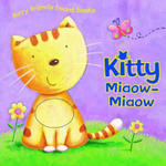 Kitty Miaow-Miaow : Furry Friends Board Book - Hannah Wood