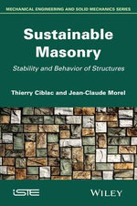 Sustainable Masonry - Jean-Claude Morel