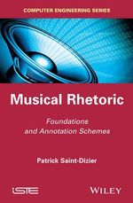 Musical Rhetoric : Foundations and Annotation Schemes - Patrick Saint-Dizier