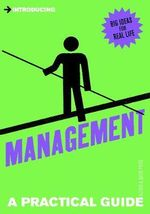 Introducing Management : A Practical Guide - Alison Price