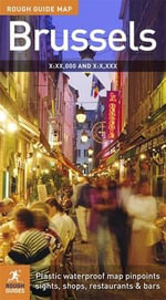The Rough Guide Map : Brussels - Rough Guides