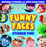 Funny Faces : Sticker Fun! - Caterpillar Books