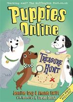 Puppies Online : Treasure Hunt - Jennifer Gray