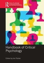Handbook of Critical Psychology : Routledge International Handbooks