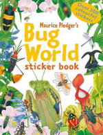Bug World Sticker Book - Rod Green