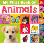 My First Book of Animals : Tabbed Book - Joanna Bicknell