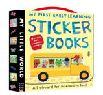 My First Early-Learning Sticker Books : Hop on Board for Interactive Fun! - Fhiona Galloway