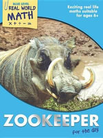 Real World Math Blue Level : Zookeeper for the Day - Wendy Clemson