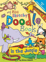 My Big Sketchy Doodle Book : In the Jungle