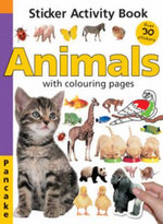 Animals : Sticker Activity Book : With Colouring Pages - Pancake