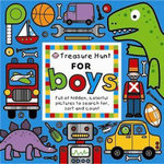 Treasure Hunt for Boys  :  Full of Hidden, Colourful Pictures to Search for, Sort and Count - Priddy Books Staff