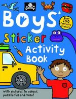 Boys' Sticker Activity Book : reschool Sticker Activity Books - Roger Priddy