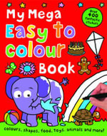 My Mega : Easy to Colour Book - Roger Priddy