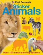 Animals : First Sticker Concepts - Roger Priddy