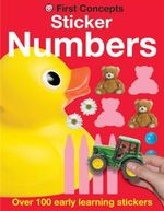 Sticker Numbers : First Concepts - Over 100 Early Learning Stickers - Roger Priddy