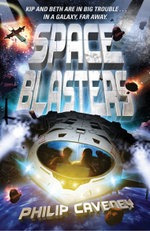 Space Blasters : A Cross on the Door - Philip Caveney