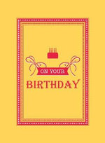 On Your Birthday : A Honey Driver Murder Mystery - UNKNOWN
