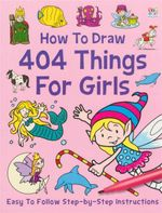 How To Draw 404 Fun Things For Girls : Easy To Follow Step By Step Instructions
