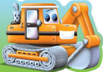 Digger : Chunky Big Vehicles - Kay Massey