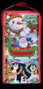 CHUNKIES Christmas Bag : Three CHUNKIE Board Books in a Bag with Handle