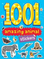 1001 Amazing Animals Stickers - Duck Egg Blue