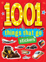 1001 Things That Go Stickers - Blue Duck