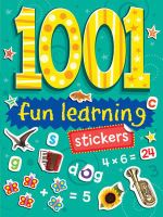 1001 Fun Learning Stickers - Duck Egg Blue