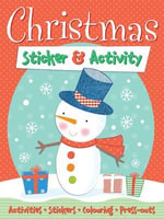 Christmas Sticker & Activity : Activities, Stickers, Colouring, Press-outs