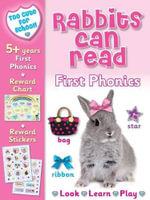 Too Cute for School : Rabbits Can Read : First Phonics - Nina Filipek